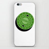Splinter's house iPhone & iPod Skin