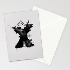 X ANIMALS Stationery Cards