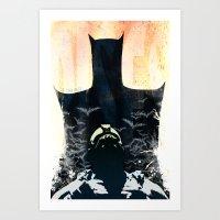 Rises - variant Art Print