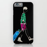 stylish girl walking iPhone 6 Slim Case