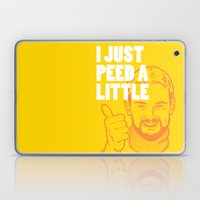 I Just Peed A Little Laptop & iPad Skin