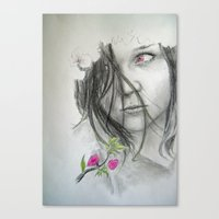Spring is not Happy Canvas Print