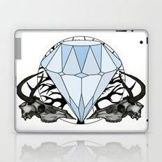 Diamond and skulls Laptop & iPad Skin
