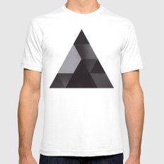 2try Mens Fitted Tee White SMALL