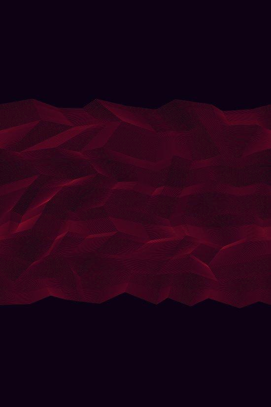Facets - Dark Purple Canvas Print