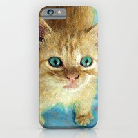 Cute Little Kitten  iPhone 6 Slim Case