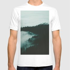 Dark Fog Mens Fitted Tee White SMALL