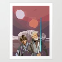 Farthest From Art Print