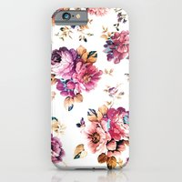VINTAGE FLOWERS XXXIV - for iphone iPhone 6 Slim Case