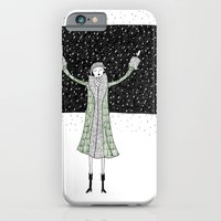 iPhone & iPod Case featuring Eloise loves winter by kate gabrielle