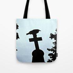 Pere-Lachaise Raven Tote Bag