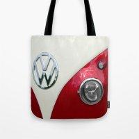 VW T2 Split Screen Tote Bag