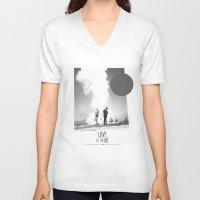 Love Is To Die | Collage Unisex V-Neck