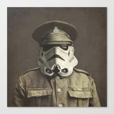 Sgt. Stormley (square Fo… Canvas Print