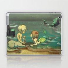 Message in the bottle Laptop & iPad Skin