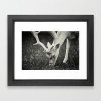 Get some green... Framed Art Print
