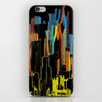 Strippy City iPhone & iPod Skin