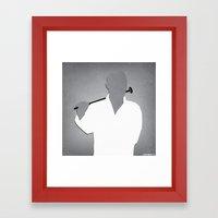 neurology Framed Art Print
