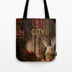 Move to the city Tote Bag