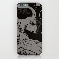 iPhone & iPod Case featuring error 404 by frederic levy-hadida