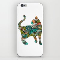 Vegetarian cat iPhone & iPod Skin