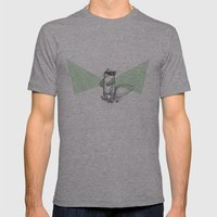 Squirrel Mens Fitted Tee Athletic Grey SMALL