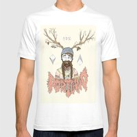 PORTLAND I Mens Fitted Tee White SMALL