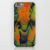 Elephant with Tiny Bird iPhone 6 Slim Case