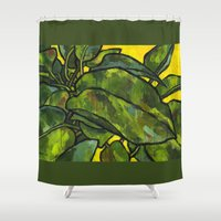Pothos 2 Shower Curtain