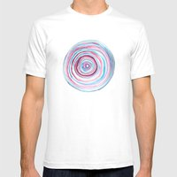 Growth Rings Mens Fitted Tee White SMALL