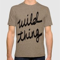 Wild Thing Mens Fitted Tee Tri-Coffee SMALL