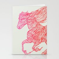 horse Stationery Cards featuring Horse by Huebucket