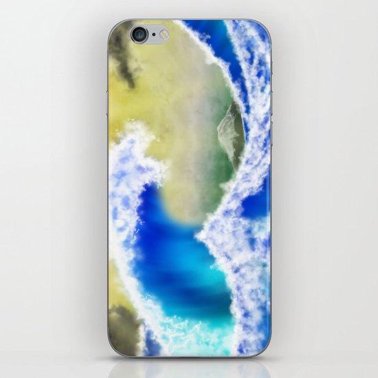 The GreatWave Interpretation iPhone & iPod Skin