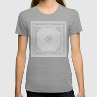 Mosaic Womens Fitted Tee Tri-Grey SMALL
