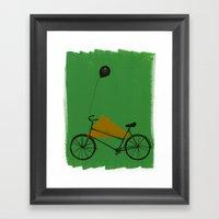 Confidant II. (bicycle) Framed Art Print