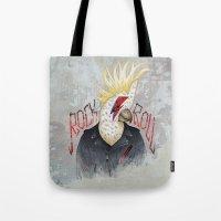 ROCK & ROLL BIRD!! Tote Bag