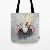 ROCK & ROLL BIRD!! Tote Bag