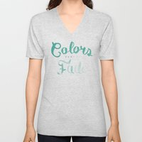 Colors tend to fade Unisex V-Neck