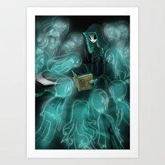 Deadtime Story Art Print