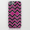 Pink Black Tribal Chevron iPhone & iPod Case