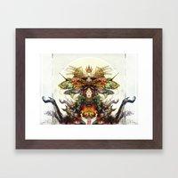 Deity Framed Art Print