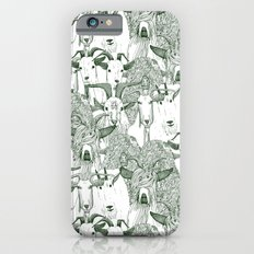 just goats dark green Slim Case iPhone 6s