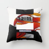 Untitled 1.87 Throw Pillow