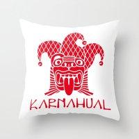 Karnahual Throw Pillow