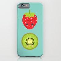 Strawberry Kiwi iPhone 6 Slim Case