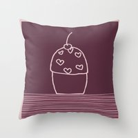 Happiness is.... Throw Pillow