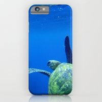 iPhone & iPod Case featuring Turtle of the Sea by Fairlady