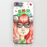 iPhone & iPod Case featuring Miss Frog by Elgart The Rat