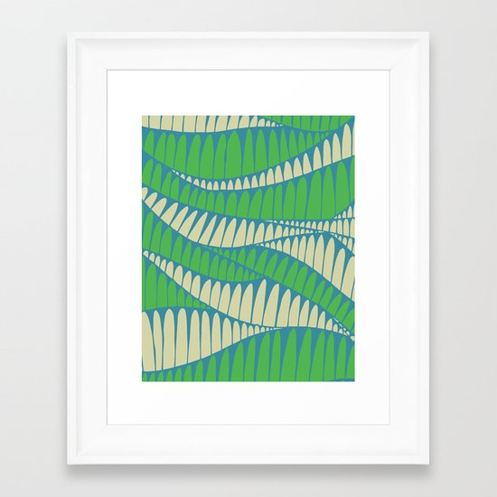 Sahara Desert in pastel colours 1 Framed Art Print