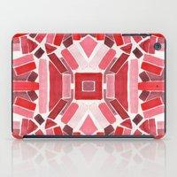 warm color pattern iPad Case